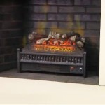 Comfort Smart 23-Inch Electric Fireplace Insert/Log Set