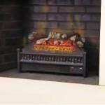 Comfort Smart 23-Inch Electric Fireplace Insert/Log Set