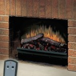 Dimplex 23-Inch Deluxe Electric Fireplace LED Log Set & Trim Kit