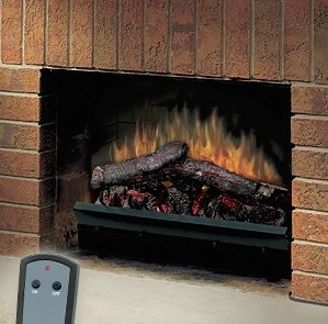 The Dimplex 2309 LED Log set is simple to install and easy to live with. The realistic LED flames offer the beauty you