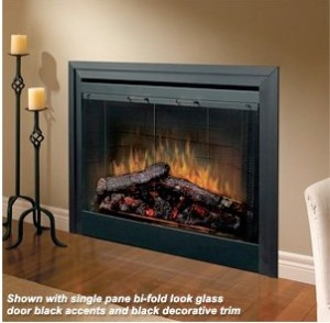 Dimplex 33-Inch Purifire Built-in Electric Fireplace - BF33DXP