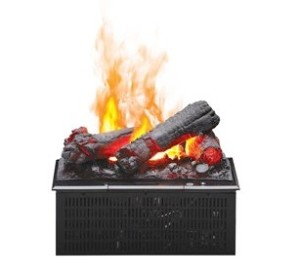 Dimplex 18″ Opti-Myst Electric Fireplace Cassette Insert w/ Logs