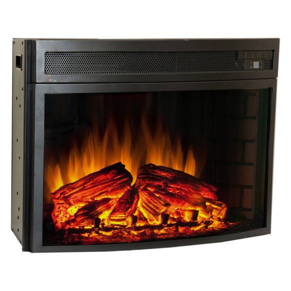 Comfort Smart Verve 24-in Curved Electric Fireplace Insert