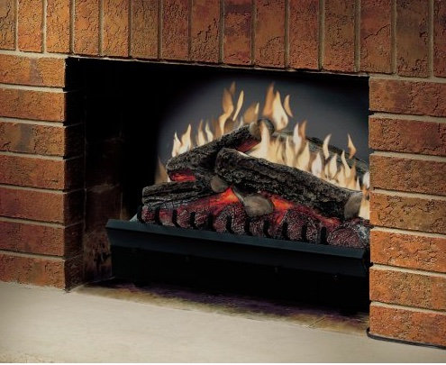 Brilliant Best Electric Log Fireplace Insert 2019 Reviews Buying Guide Home Interior And Landscaping Elinuenasavecom