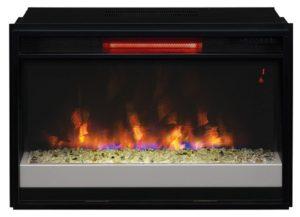 ClassicFlame 26 Infrared Quartz Fireplace Insert