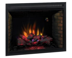 ClassicFlame 39 Traditional Built-in Electric Fireplace Insert