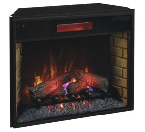 ClassicFlame 28″ Infrared Quartz Fireplace Insert Review