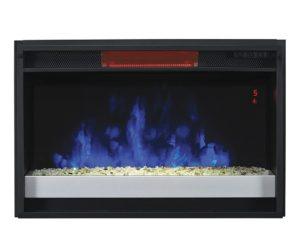 ClassicFlame 26″ Contemporary Infrared Quartz Fireplace Insert