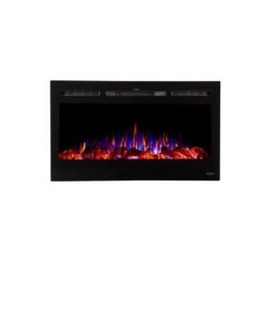 Touchstone Sideline Recessed Electric Fireplace Review