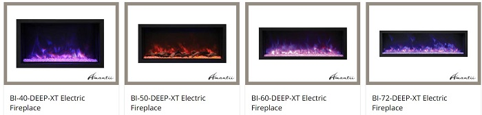 Amantii Panorama DEEP fireplaces