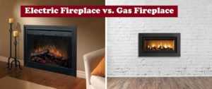 Electric vs Gas Fireplace – Pros, Cons, Comparisons and Costs