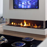 10 Cool Three-Sided Electric Fireplace Ideas