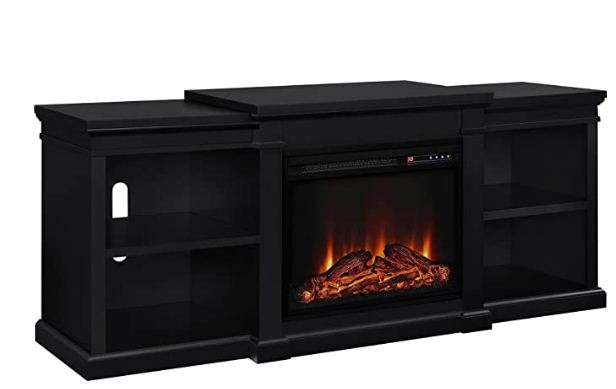 best electric fireplace for heat